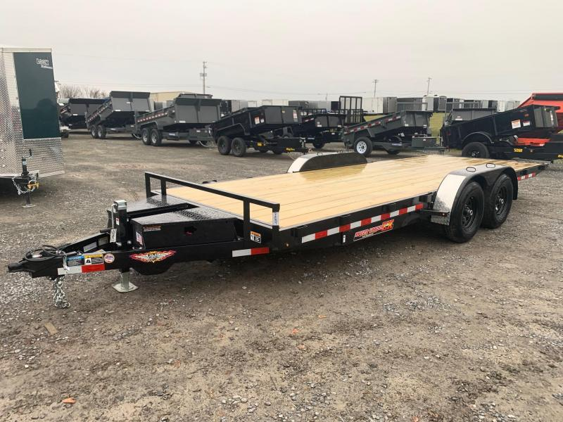 2020 H & H Trailers SpeedLoader EX Power Tilt 7x20 10K Car / Racing Trailer