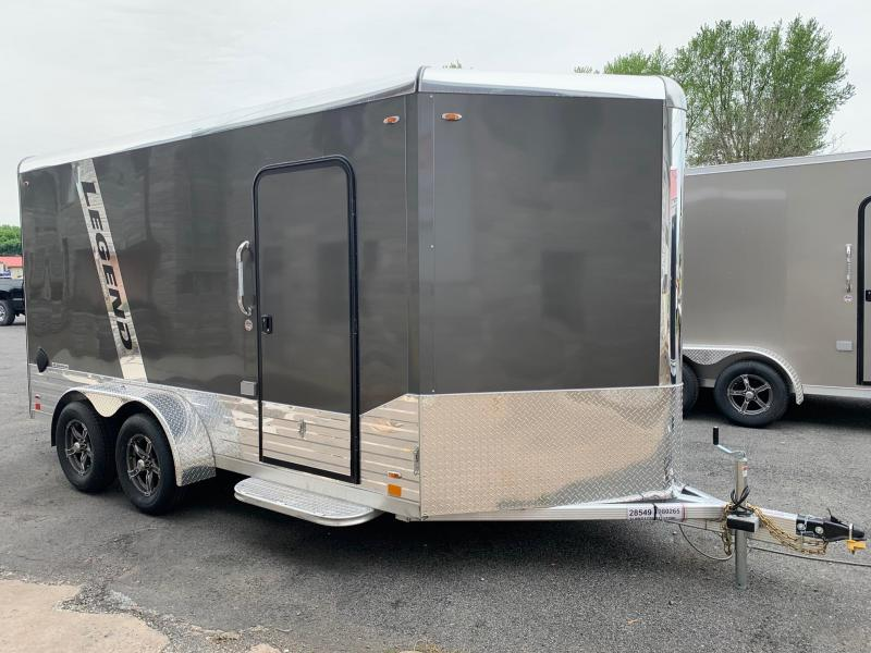 2021 Legend Trailers DVN 7x14 (plus 3ft V) 7K Enclosed Cargo Trailer
