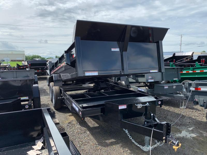 2019 Sure-Trac 7x16 14K low profile Scissor dump trailer
