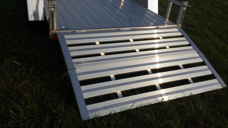2020 Stealth 6-5x12 Alum Open Deck Rail Utility Trailer