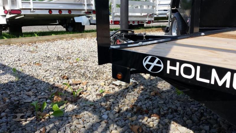 2019 Holmes 4x6 Rail Side Utility Trailer