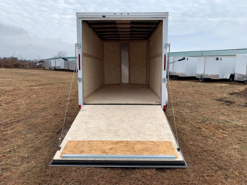 2020 Wells Cargo Fast Trac 7x14 Enclosed Cargo Trailer