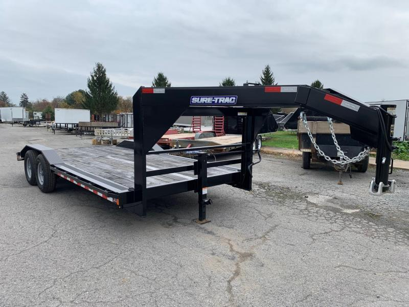 2020 Sure-Trac 18ft Gooseneck Equipment Trailer