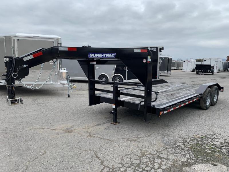 2020 Sure-Trac 18ft Gooseneck Equipment Trailer