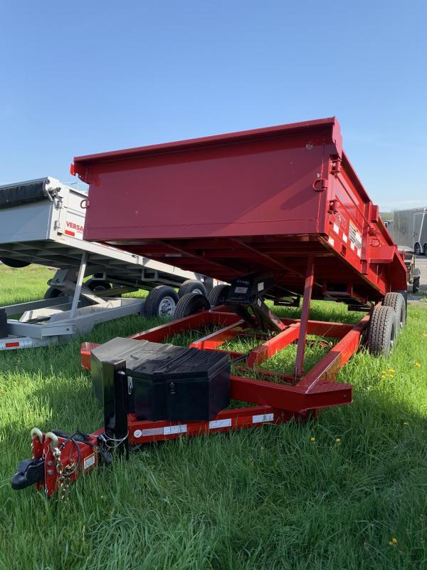 2019 Midsota 7X14 HV-14 Dump Trailer