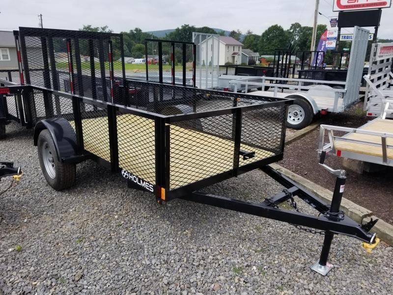 2020 Holmes 5x10 3.5K Mesh Side Utility Trailer