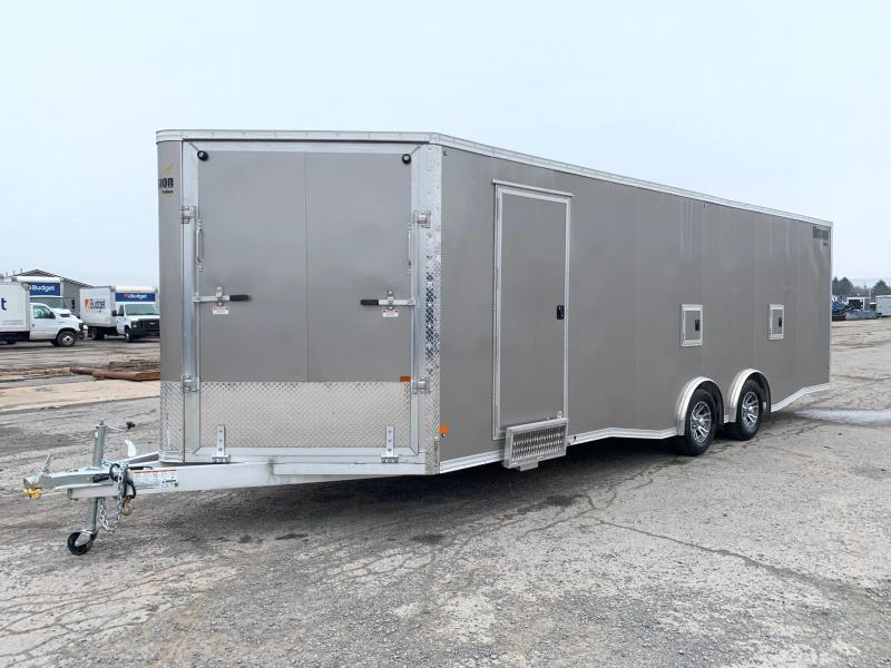 2020 Mission 8.5x24 Snowmobile Trailer