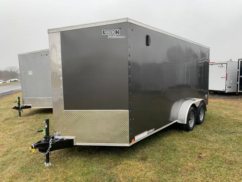 2020 Look Trailers Element 7x16 7K Enclosed Cargo Trailer