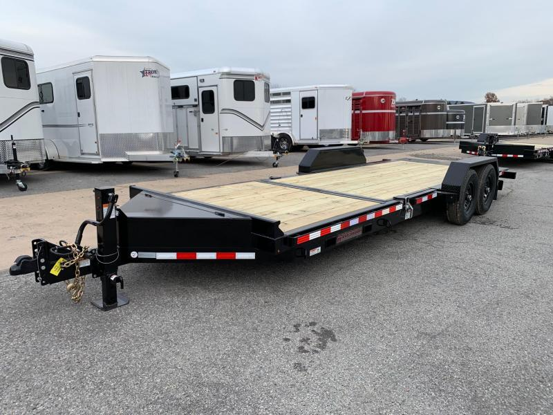 2020 Midsota 22ft 15.4K Tilt Bed Equipment Trailer