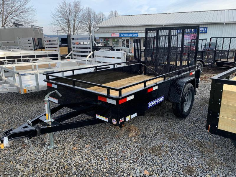 2020 Sure-Trac Steel High Side 5x10 3K Utility Trailer
