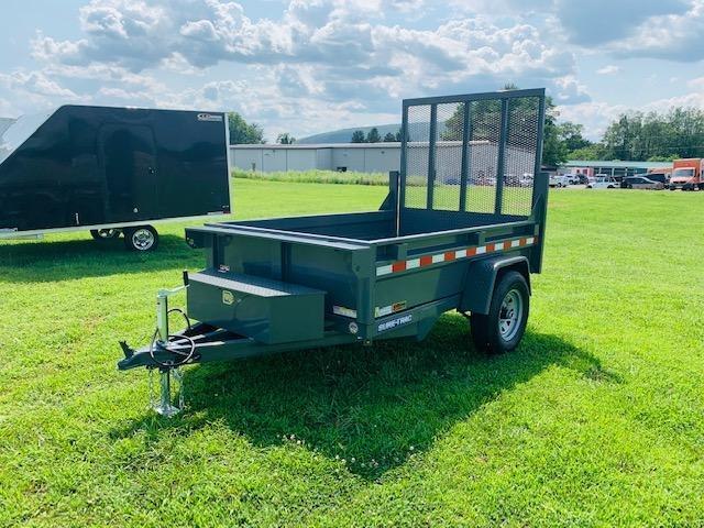 2019 Sure-Trac 5x8 5k Dump Trailer