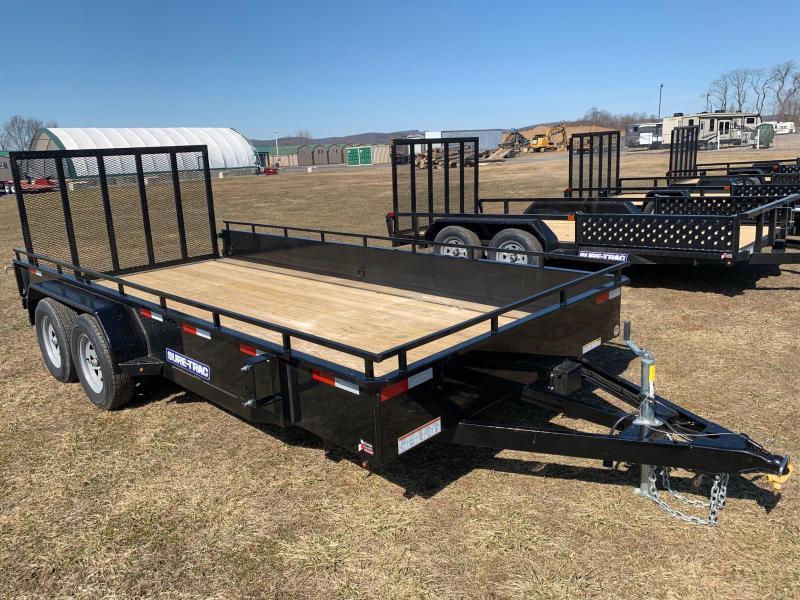 2020 Sure-Trac High Side 7x16 7K Utility Trailer