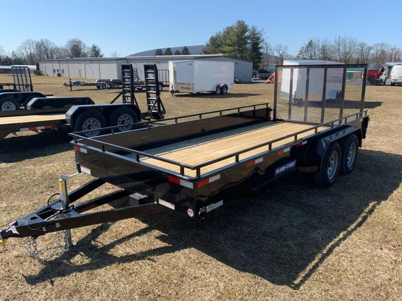 2020 Sure-Trac High Side 7x16 7K Utility Trailer