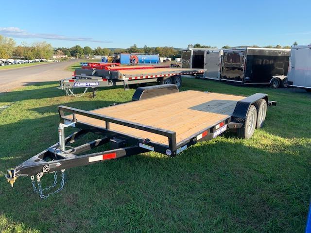 2020 Sure-Trac 7x16 Wood Deck Car / Racing Trailer