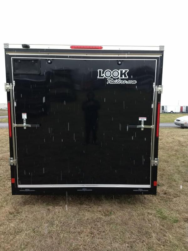 2019 Look Trailers 7x12 w/ brakes Element SE Enclosed Cargo Trailer