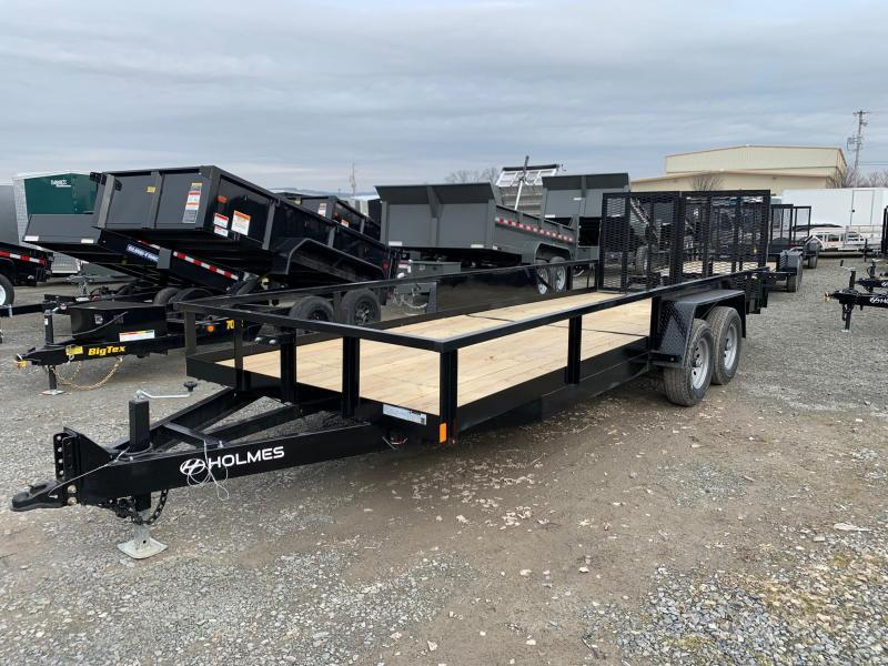 2020 Holmes Commercial 6-10x20 10K Utility Trailer