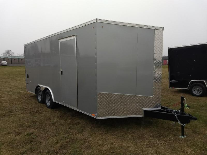 2019 Look Trailers 8.5x18 7K Cargo/Enclosed Trailer
