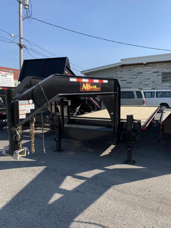 2019 Midsota 8-5x23+5 Nova Goose-neck Deckover 16K