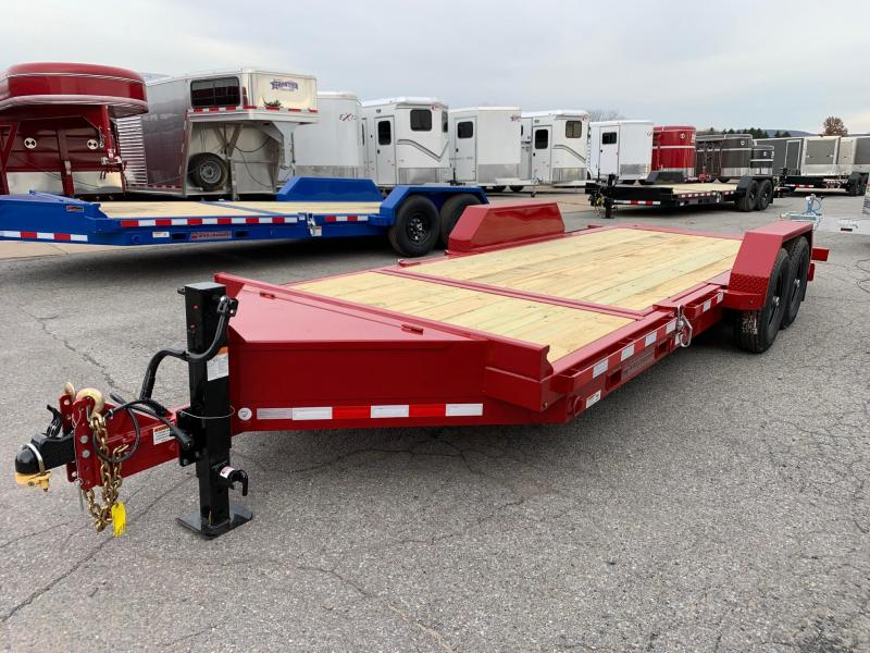 2020 Midsota 20ft 15.4K Tilt Bed Equipment Trailer