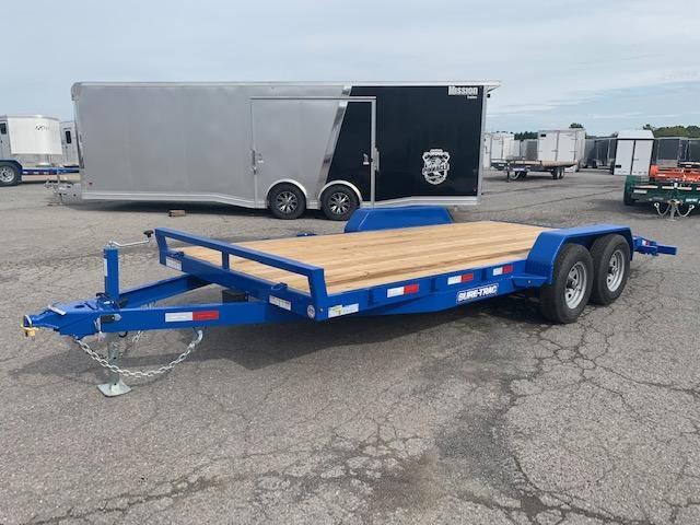 2020 Sure-Trac 7x18 10K Wood Deck Car / Racing Trailer