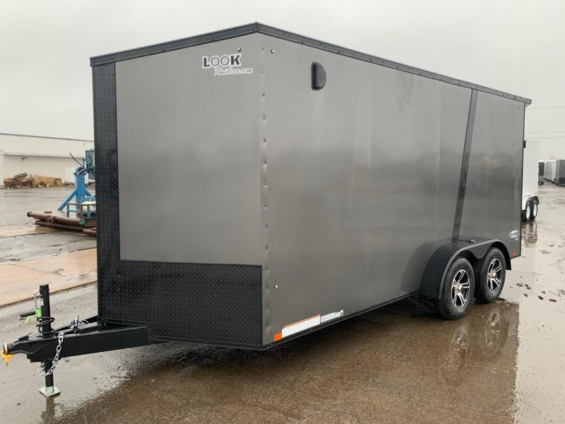2021 Look Trailers Element SE 7x16 7K Black Out Pckg Enclosed Cargo Trailer