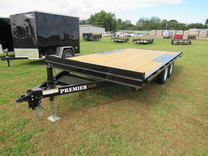 2019 Premier Trailers Inc. 16' 7K Deck-Over Equipment Trailer