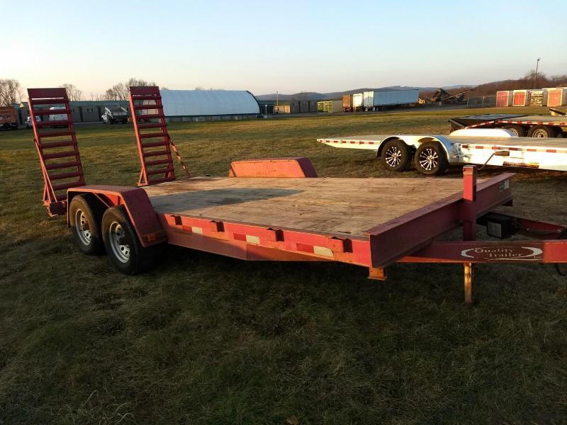 2008 Quality Trailers 7x18 10K Equipment Trailer