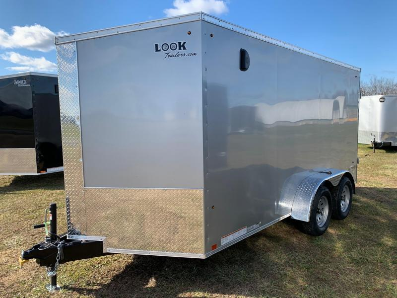 2020 Look Trailers 7x14 7K Enclosed Cargo Trailer