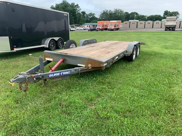 2014 Sure-Trac 20' 10K Tilt Equipment Trailer