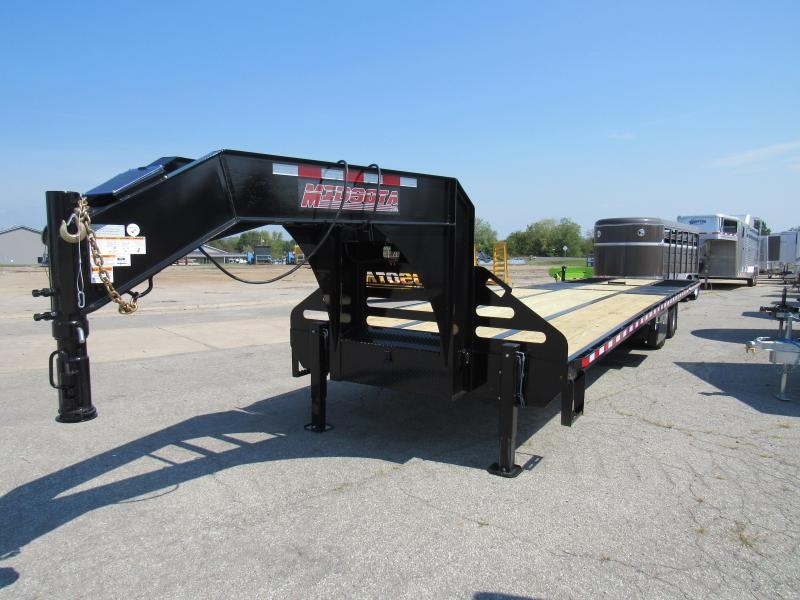 2020 Midsota FB36GN Equipment Trailer