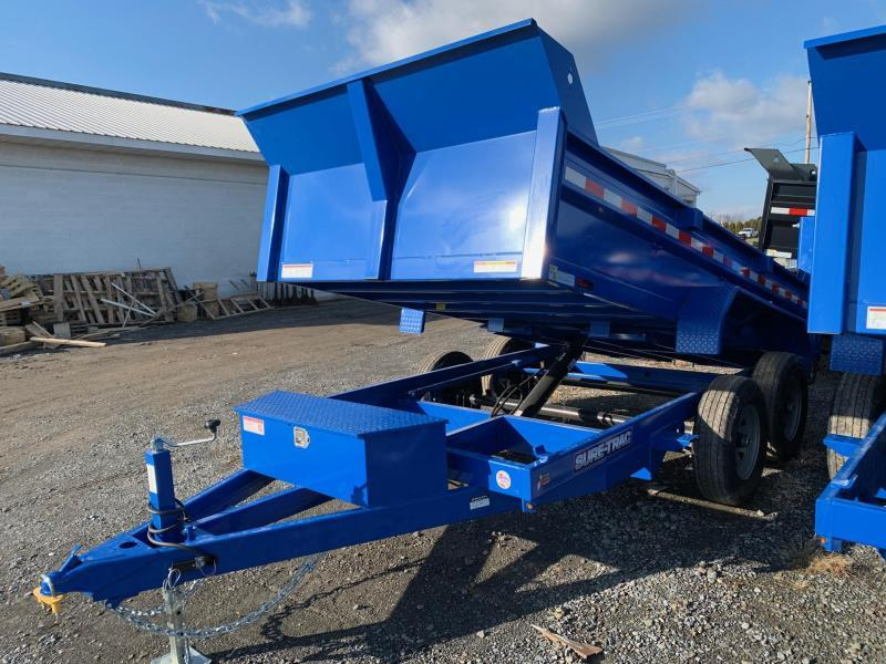 2020 Sure-Trac Low Profile 6x12 10k Dump Trailer