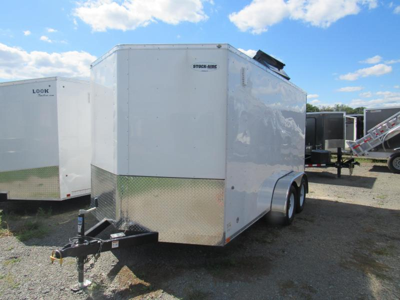 2019 Integrity Trailers 7x14 Enclosed Cargo Trailer