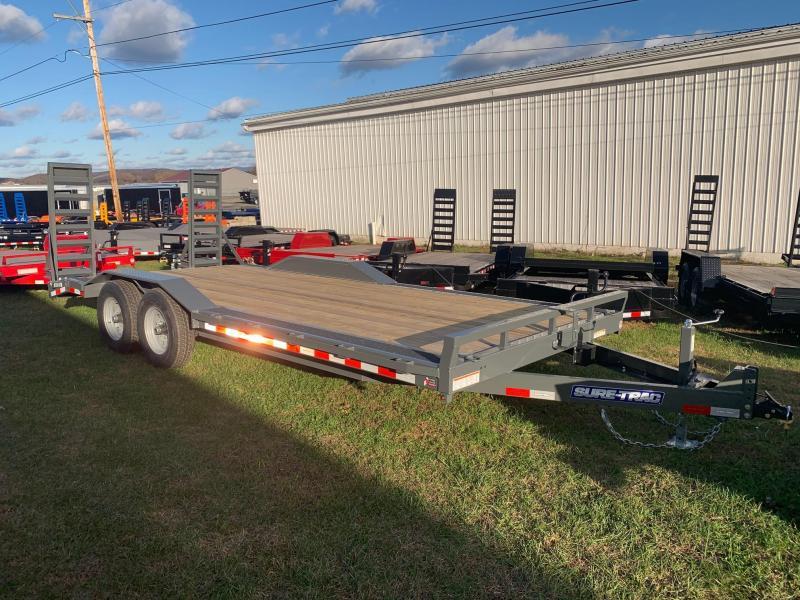 2020 Sure-Trac 8.5x20 14K Full Width Equipment Trailer