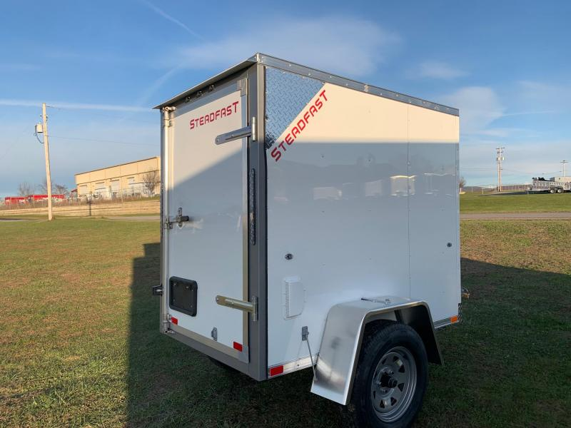 2020 Steadfast Trailers 4x6 2.2K Enclosed Cargo Trailer