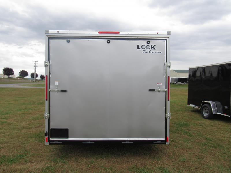 2019 Look Trailers 8.5x18 7K Cargo/Enclosed Trailer