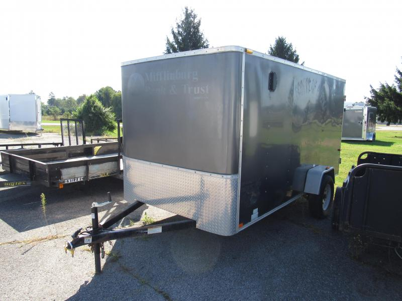 2008 Homesteader 6x12 3K Enclosed Cargo Trailer