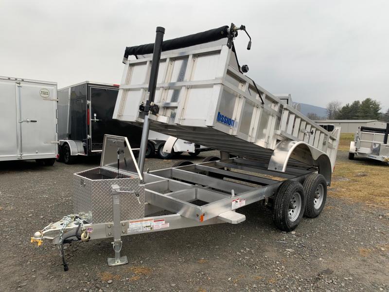 2020 Mission 6x12 High Side Dump Trailer