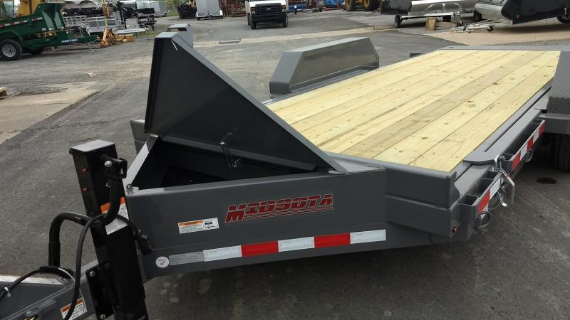 2019 Midsota 7x18 15.4K tilt deck Equipment Trailer