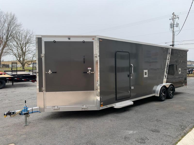 2020 Legend Manufacturing 7.5x24 Plus V Snowmobile Trailer