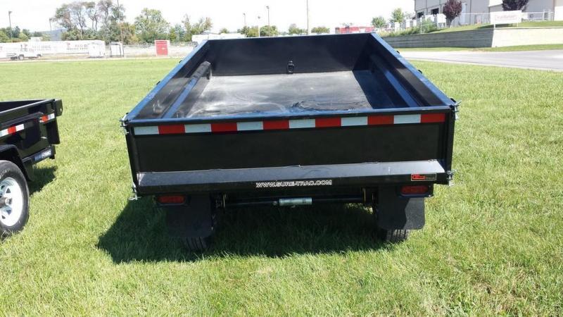 2020 Sure-Trac 6x10 Deckover Dump Trailer