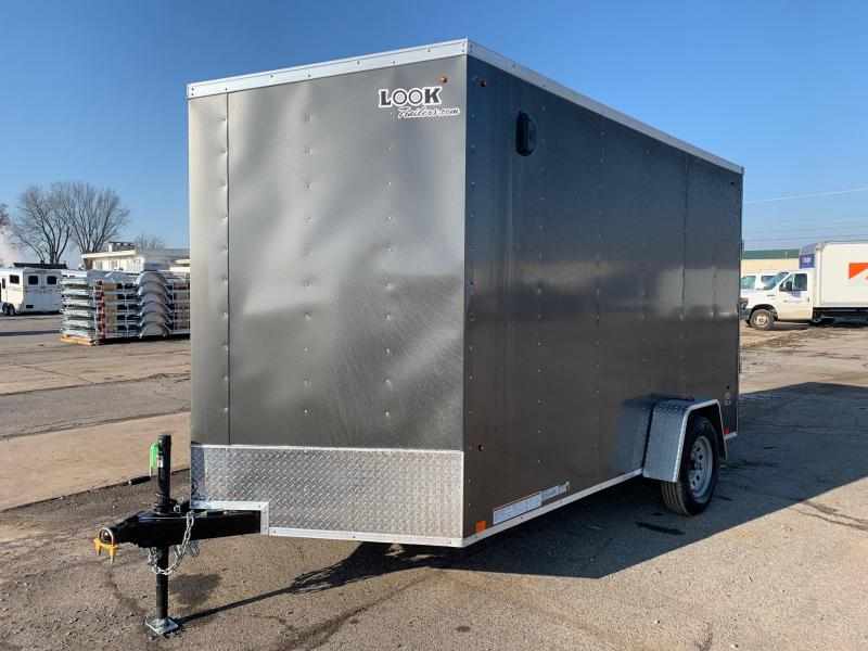 2021 Look Trailers 7x12 3.5K Enclosed Cargo Trailer