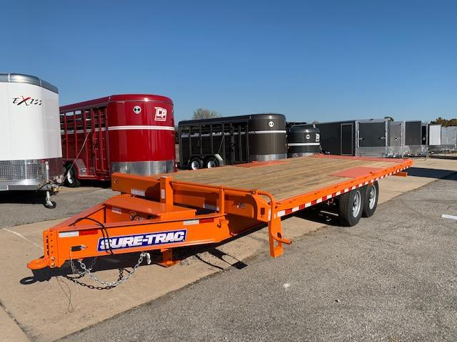 2020 Sure-Trac 8.5x22 Tilt Flatbed Trailer