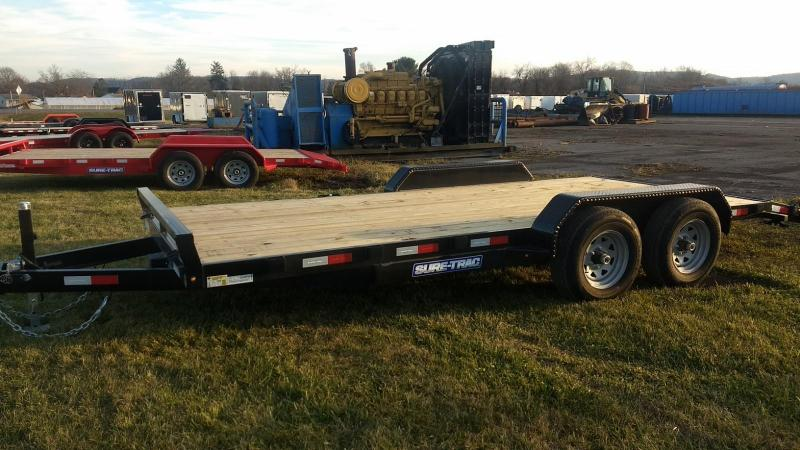 2020 Sure-Trac 7 X 18 Wood Deck Car Hauler  10k