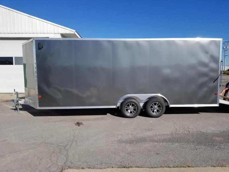 2018 EZ Hauler 8x20 7K Aluminum Car / Racing Trailer