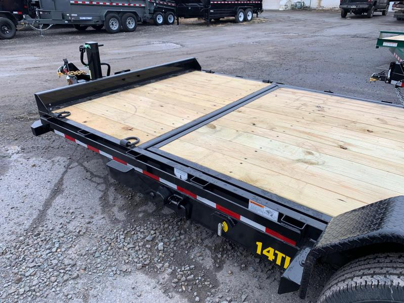 2020 Big Tex Trailers 7X20 14K Tilt Equipment Trailer