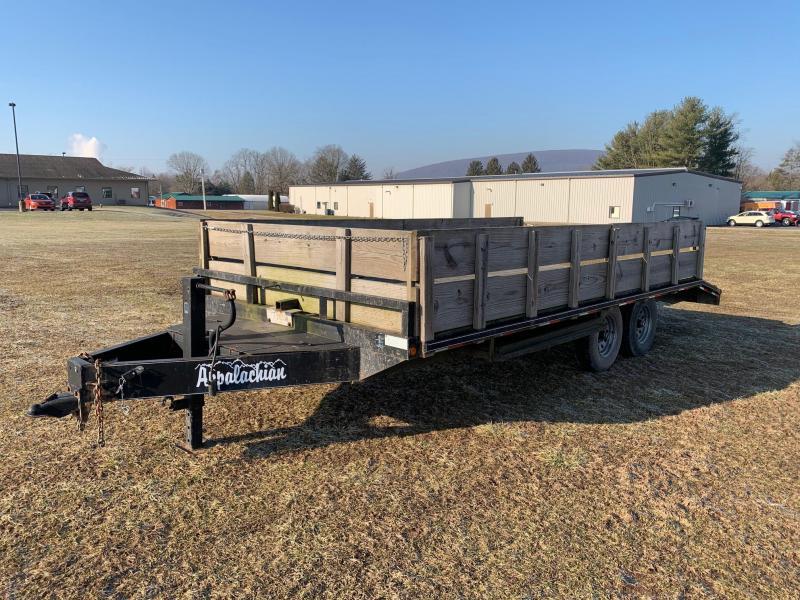 2011 Appalachian 10k 16 Plus 3 Deckover Flatbed Trailer