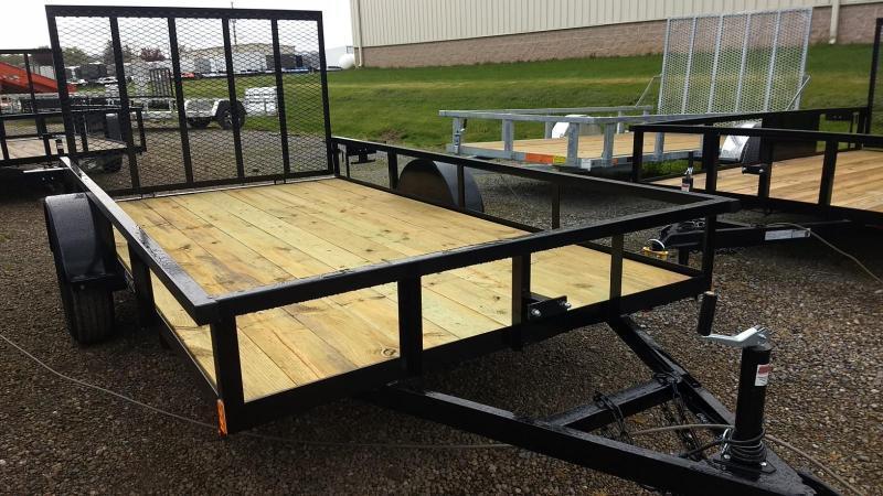 2020 Holmes 6-4x12 Open Side Rail Utility Trailer