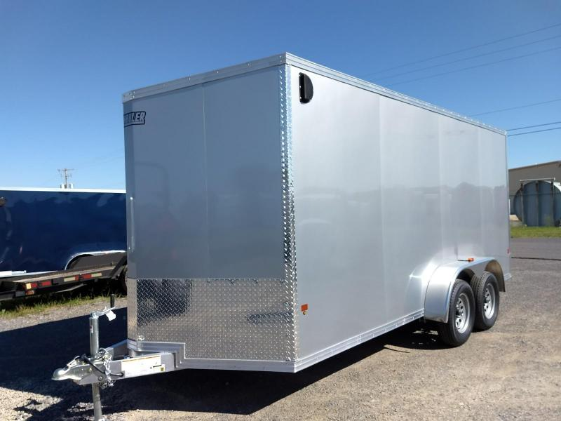 2019 EZ Hauler 7x16 7K Aluminum Enclosed Cargo Trailer