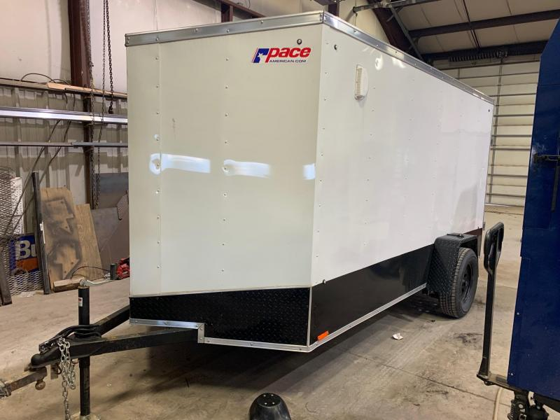 2019 Pace American 6x12 3K Enclosed Cargo Trailer