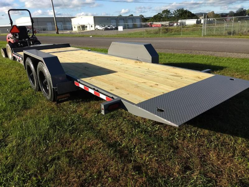 2019 Midsota 7x18+4 17.6K tilt deck Equipment Trailer